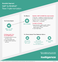 SAP S/4HANA New Implementation infographic thumbnail